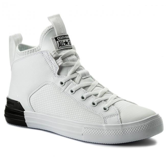 Sneakersy CONVERSE - Ctas Ultra Mid 159628C White White Black ... 33d1ce33bc