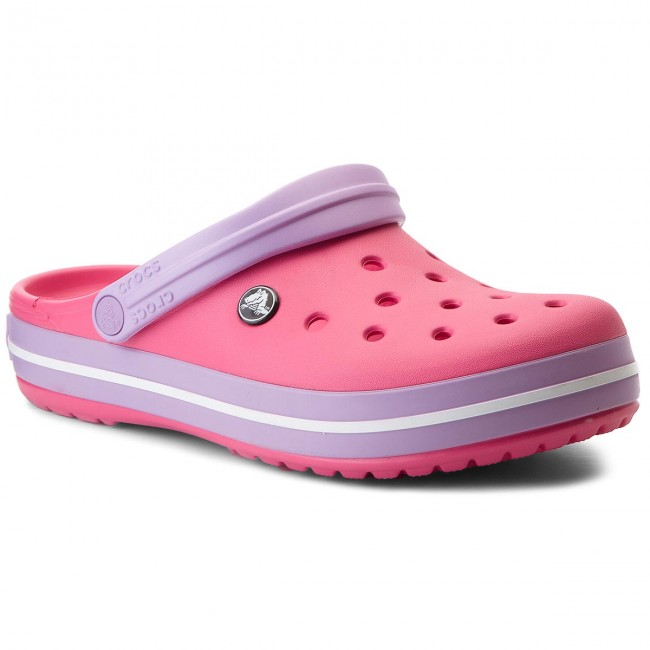Šľapky CROCS - Crocband 11016 Paradise Pink Iris - Šľapky každodenné ... 9fab1c96562