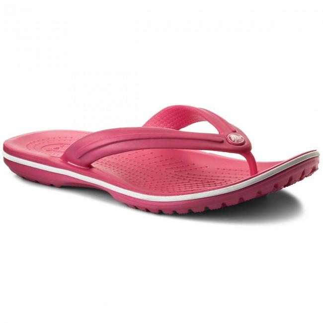 12df991fe7 Žabky CROCS - Crocband Flip 11033 Paradise Pink White - Žabky ...
