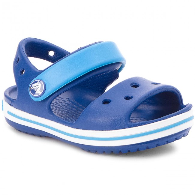 Sandále CROCS - Crocband Sandal Kids 12856 Cerulean Blue Ocean ... ab2bb476322