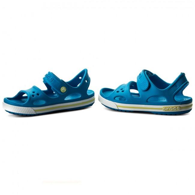 Sandále CROCS - Crocband II Sandal Ps 14854 Ocean Tennis Ball Green ... a44641f6aae