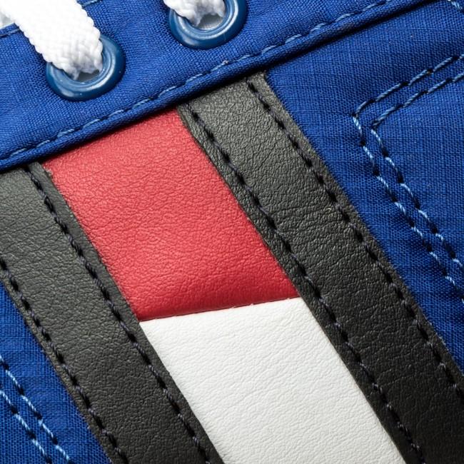 Tenisky TOMMY HILFIGER - Essential Flag Detail Sneaker FM0FM01535 Monaco  Blue 408 e1256062f73