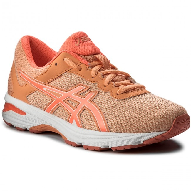 Topánky ASICS - GT-1000 6 Gs C740N Apricot Ice Flash Coral Canteloupe 165b3b58785