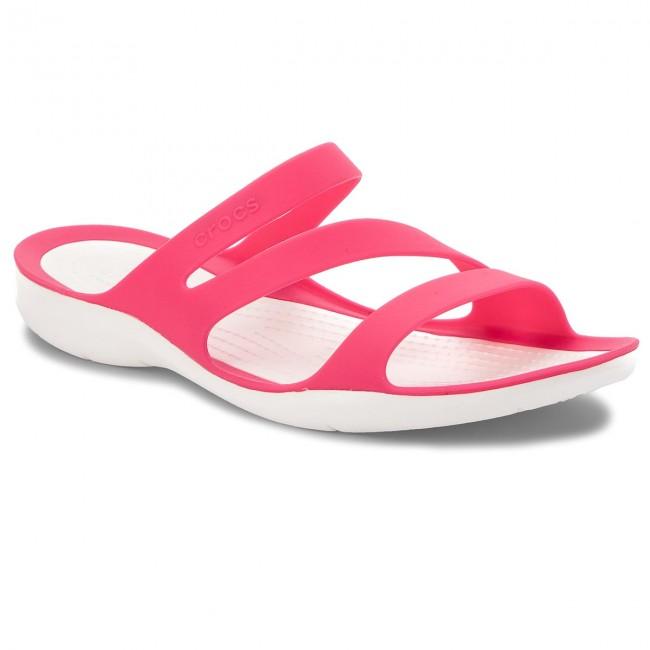 c3358acb859e0 Šľapky CROCS - Swiftwater Sandal W 203998 Paradise Pink/White ...