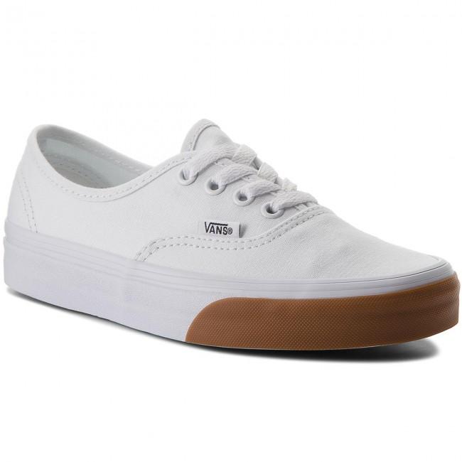 Tenisky VANS - Authentic VA38EMQ8R (Gum Bumper) True White ... 8d8ee9221c1