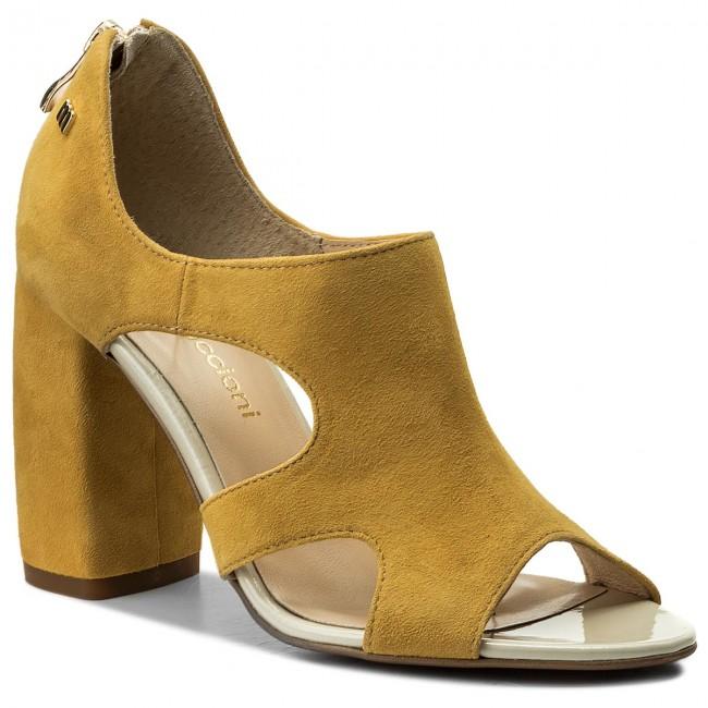 85acd3f33fa5 Sandále MACCIONI - 517.169.3245 Žltá - Sandále na každodenné nosenie ...