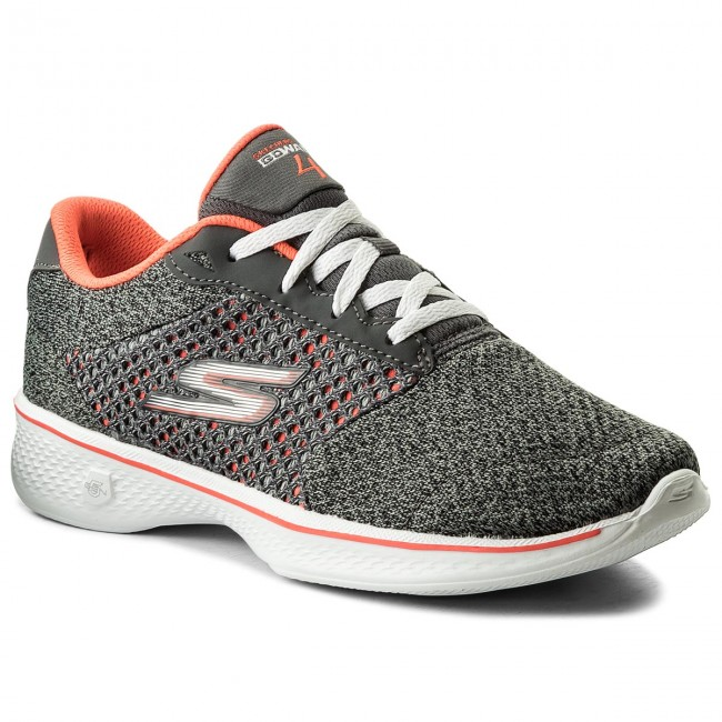 Topánky SKECHERS - Exceed 14146 CCCL Charcoal Coral - Fitness ... 5d455cee41