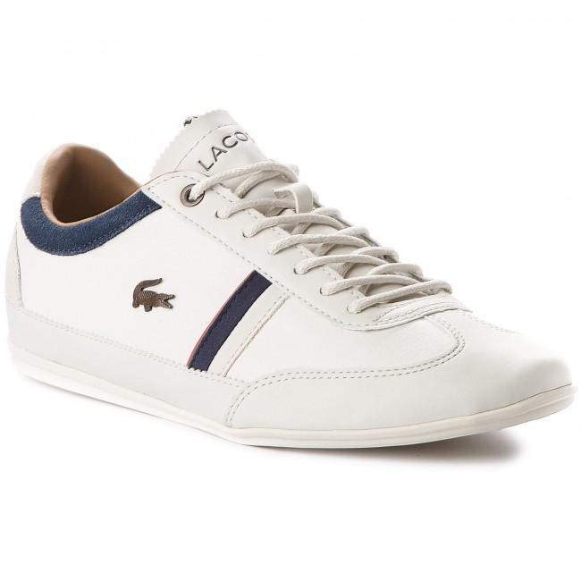 3facff98e34 Sneakersy LACOSTE - Misano 118 2 Cam 7-35CAM0081WN1 Off White Navy