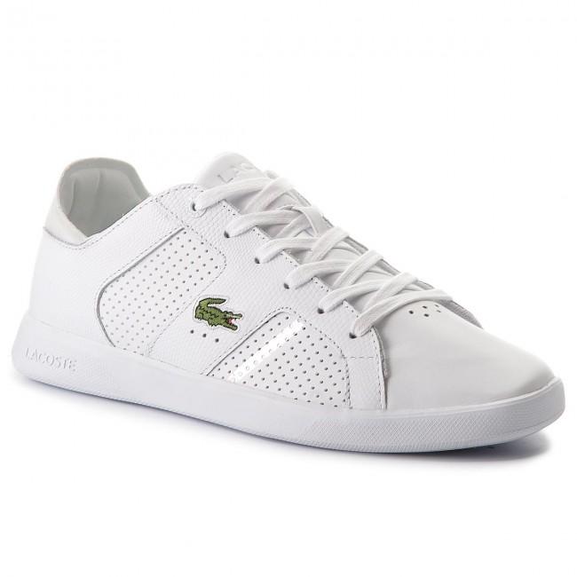 3aa90a687 Sneakersy LACOSTE - Novas Ct 118 2 Spm 7-35SPM0040108 Wht Slv ...