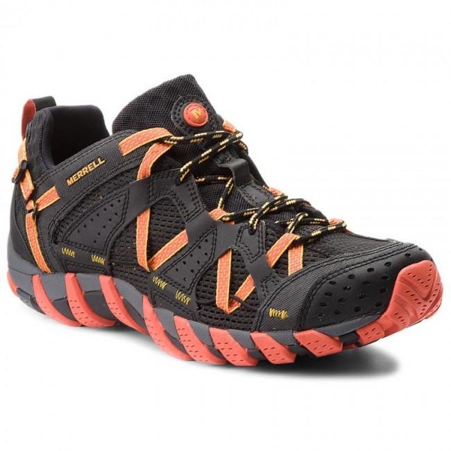 710a26186315 Trekingová obuv MERRELL - Waterpro Maipo J12627 Black Hot Coral ...