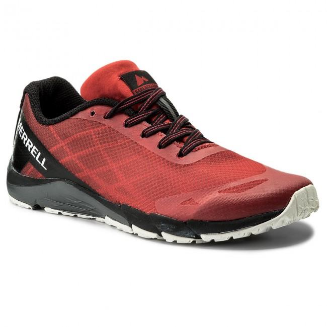 Topánky MERRELL - Bare Access MY58618 Red Black - Treningová obuv ... 831321f555b