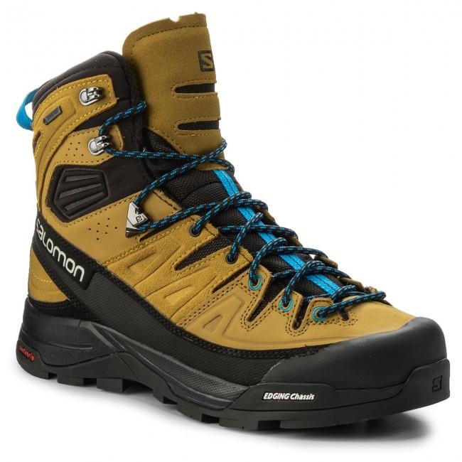 Trekingová obuv SALOMON - X Alp High Ltr Gtx GORE-TEX 400137 29 Black  be8ca684627