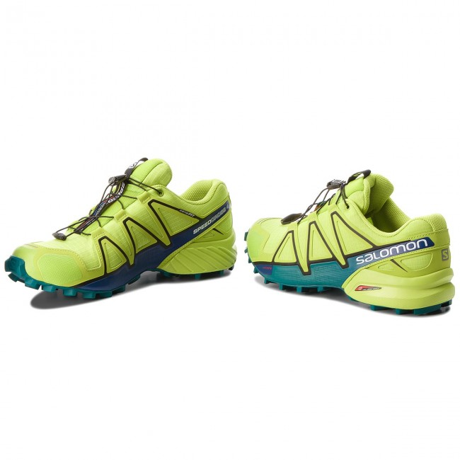 Topánky SALOMON - Speedcross 4 400779 29 V0 Acid Lime Lime Green Deep Lake e87c81de481