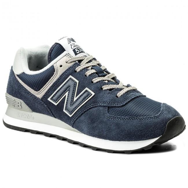 13bc77bea9a75 Sneakersy NEW BALANCE - ML574EGN Tmavo modrá - Sneakersy ...