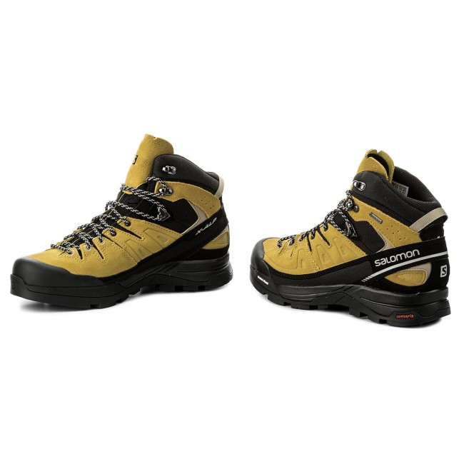 daa064bea19 Trekingová obuv SALOMON - X Alp Mid Ltr Gtx GORE-TEX 401653 27 V0 Green