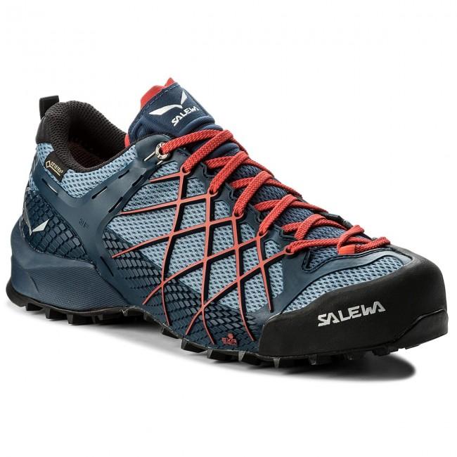 Trekingová obuv SALEWA - Wildfire Gtx GORE-TEX 63487-8673 Dark  Denim Papavero 56e4d717251