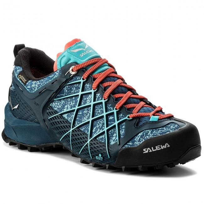 Trekingová obuv SALEWA - Wildfire Gtx GORE-TEX 63488-8964 Poseidon Capri ac45c02cef3