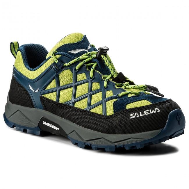 Trekingová obuv SALEWA - Wildfire 64007-8971 Poseidon Cactus - Obuv ... 9c498a0a5ec