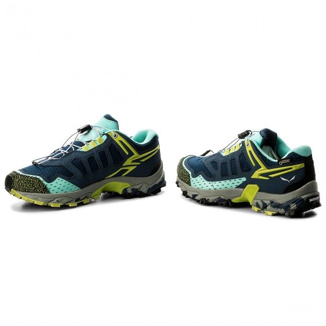 Topánky SALEWA - Ultra Train Gtx GORE-TEX 64411-8670 Dark Denim Aruba 49b071e8fd