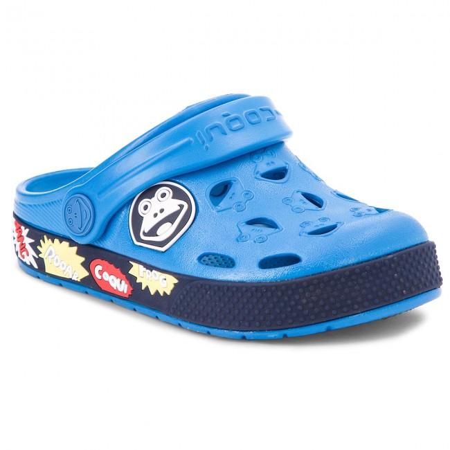 f866bc9ac2f6 Šľapky COQUI - Froggy 8802 Sea Blue Navy - Šľapky - Šľapky a sandále ...