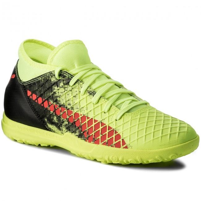 dddd8391125c Topánky PUMA - Future 18.4 Tt 104339 01 Yellow Red Black - Futbalová ...
