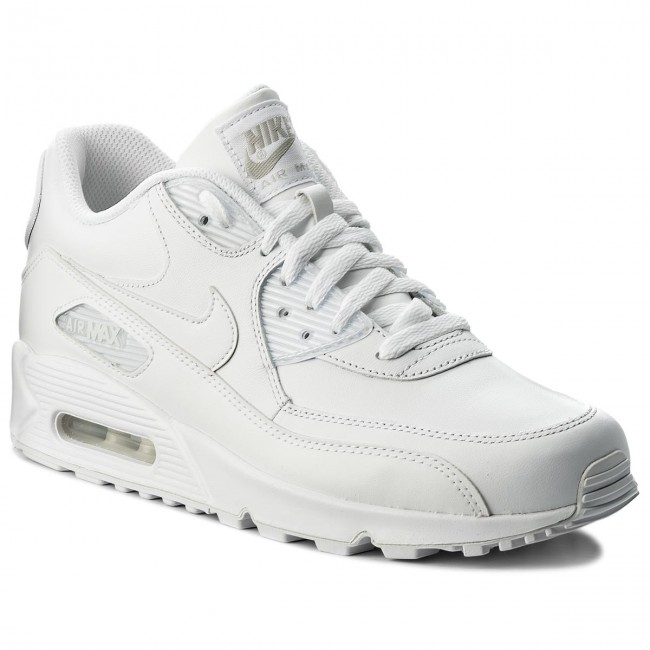 cd600eaef2 Topánky NIKE - Air Max 90 Leather 302519 113 True White True White ...