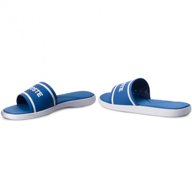 Šľapky LACOSTE - L.30 Slide 218 1 Cam 7-35CAM0063221 Blue White ... 73572151901