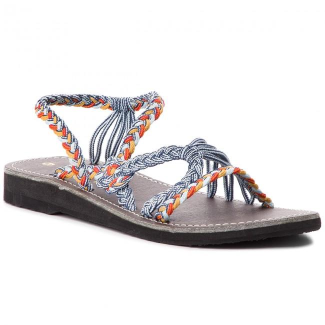 Sandále LA MARINE - Helia Blue Orange - Sandále na každodenné ... 0c19eb287af
