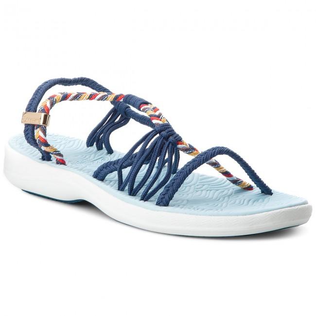 Sandále LA MARINE - Nomia Blue Epi Mix Color - Sandále na každodenné ... 9edde659844