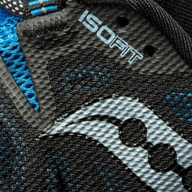 Topánky SAUCONY - Xodus Iso 2 S20387-5 Blu Blk - Trekingová obuv ... a96c57e6b4d