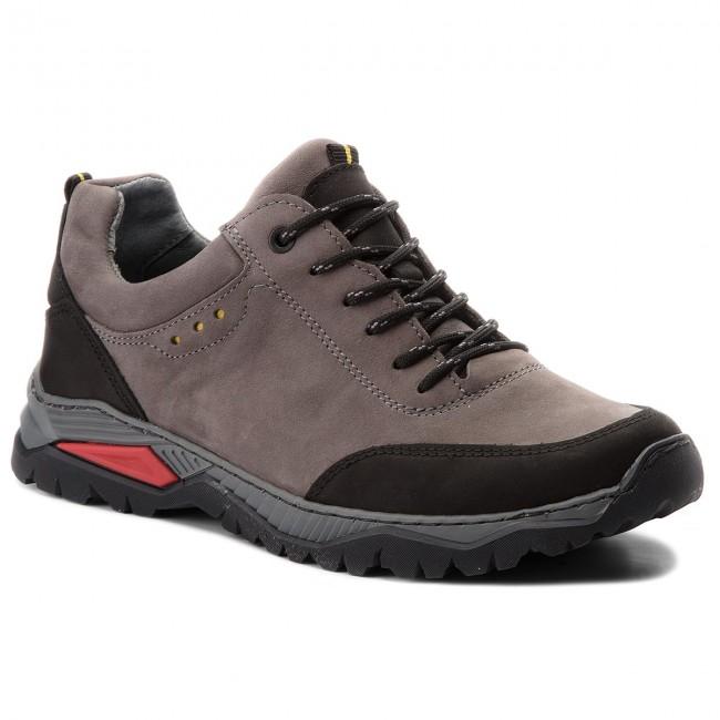 7e522d4ba8 Trekingová obuv NAGABA - 408 Szary Samuel - Outdoorové topánky ...