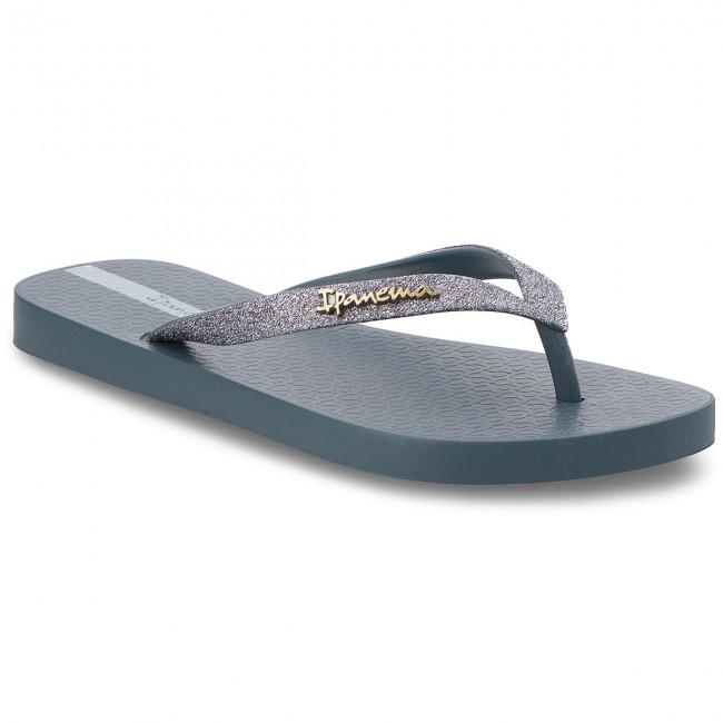e34c974768c6 Žabky IPANEMA - Lolita Blue Silver 21345 - Žabky - Šľapky a sandále ...