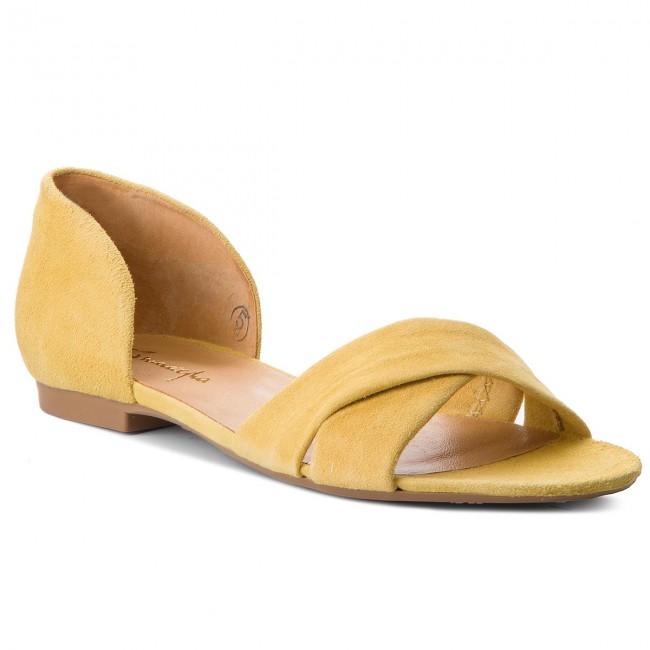 f1b9e67b709e Sandále MACIEJKA - 03615-07 00-5 Žltá - Sandále na každodenné ...