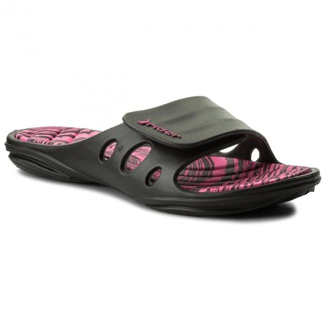 Šľapky RIDER - Key X Fem 82213 Black Pink 23954 - Šľapky každodenné ... fe33a85cedd