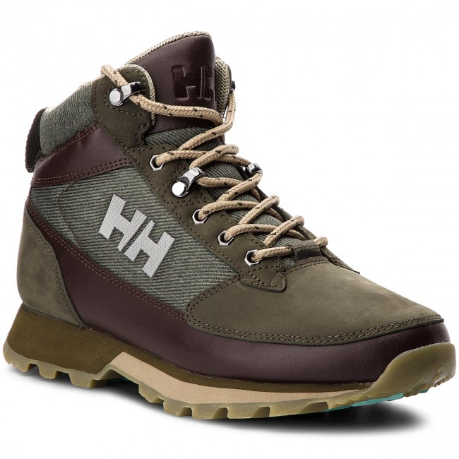 b260729404 Trekingová obuv HELLY HANSEN - W Chilcotin 114-28.489 Forest Night Warm  Espresso