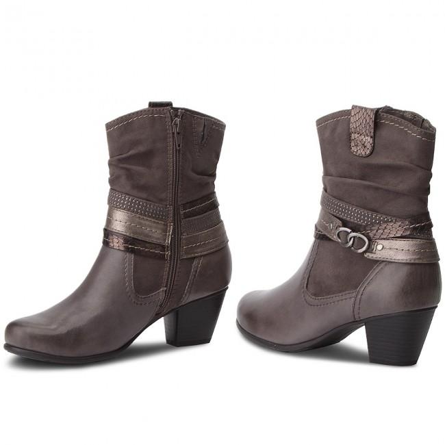 Členková obuv JANA - 8-25327-21 Graphite 206 - Kotníková obuv ... c39be65230