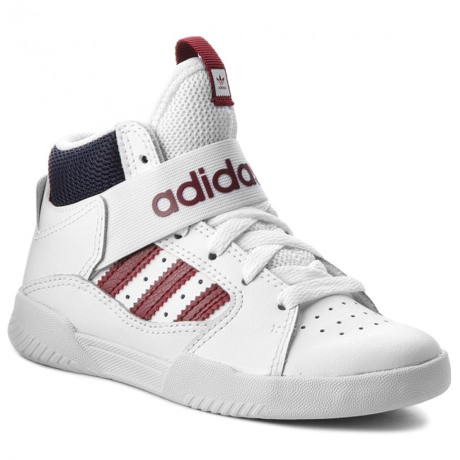 Topánky adidas - Vrx Mid J B43773 Ftwwht Scarle Conavy - Topánky ... 425b181c38b