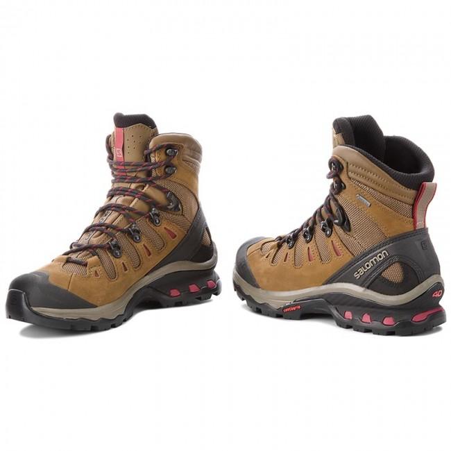 Trekingová obuv SALOMON - Quest 4D 3 Gtx W GORE-TEX 402458 20 G0 Teak 373e3e46dba