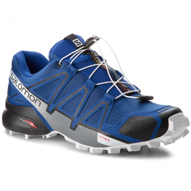 Topánky SALOMON - Speedcross 4 404641 27 V0 Mazarine Blue Wil Black White f78578b8cfb