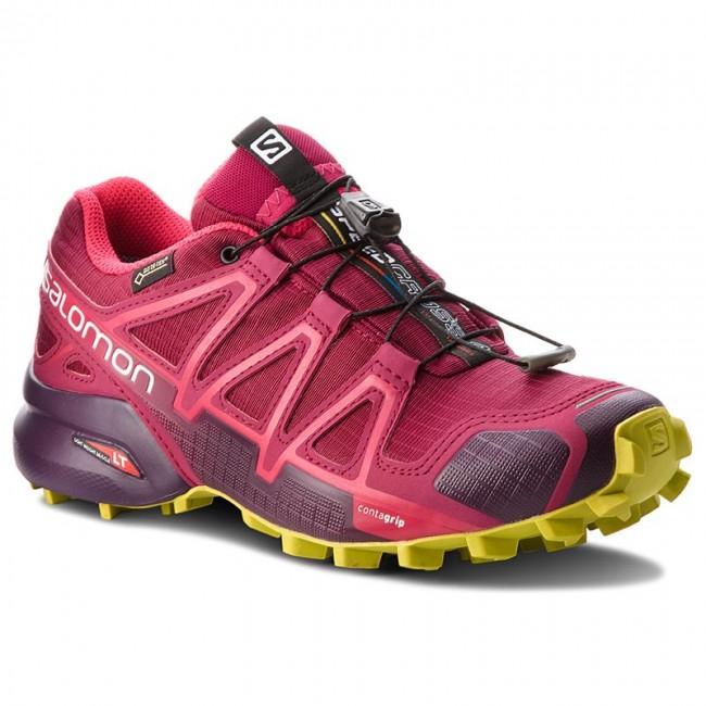 Topánky SALOMON - Speedcross 4 Gtx GORE-TEX 404666 22 G0 Beet Red Poten 99300fcdf49