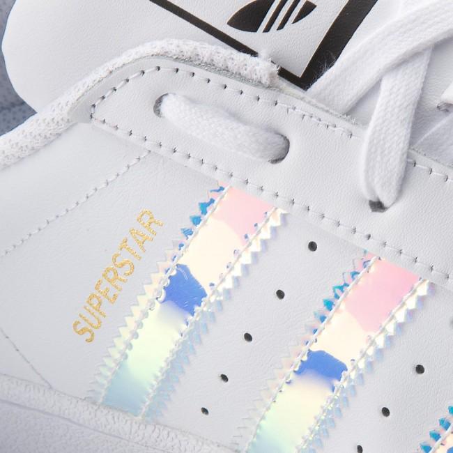 Topánky adidas - Superstar J AQ6278 Ftwwht Ftwwht Metsil - Sneakersy ... 65bac7287b2