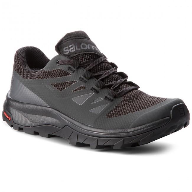 Trekingová obuv SALOMON - Outline Gtx W GORE-TEX 404852 21 V0 Phantom Black ebc68f2459