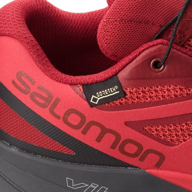 Topánky SALOMON - Sense Ride Gtx Invisible Fit GORE-TEX 404940 27 G0 Red  Dahlia 961e93c7cc