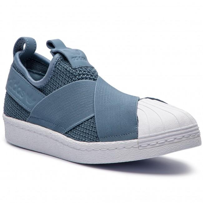 33528fb31d Topánky adidas - Superstar Slip On W AQ0869 Rawgre Rawgre Ftwwht ...