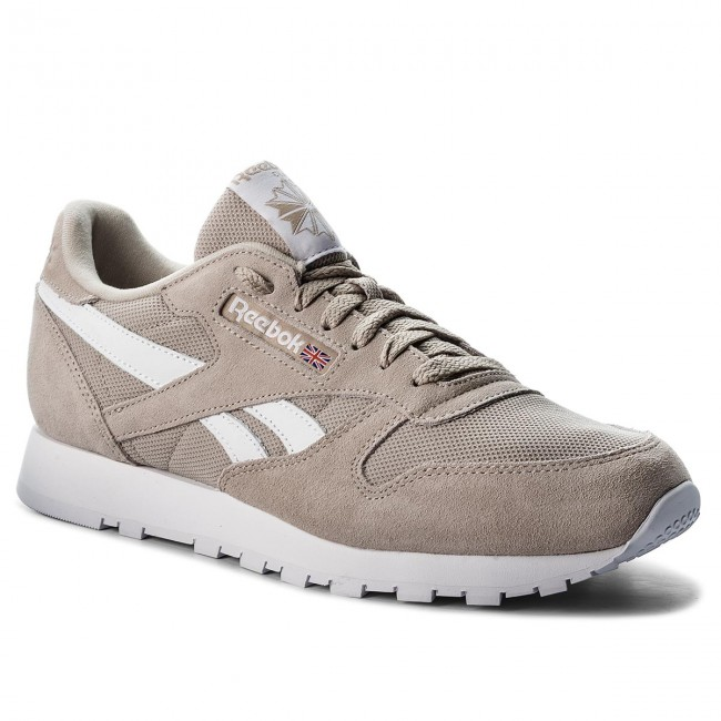 5ac4bf272336c Topánky Reebok - Cl Leather Mu CN5016 Parchment/White - Sneakersy ...