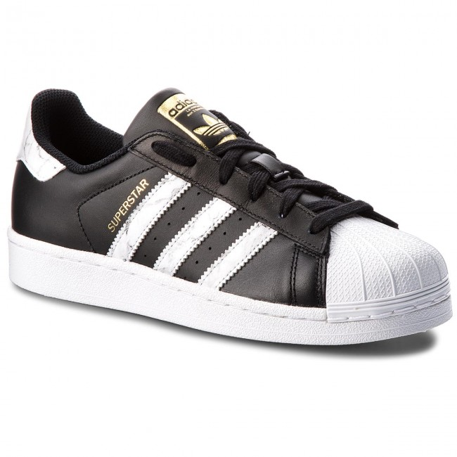 3bb0081728e5 Topánky adidas - Superstar D96800 Cblack Ftwwht Gold.F - Sneakersy ...