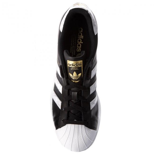 1eb3745a1b35b Topánky adidas - Superstar D96800 Cblack/Ftwwht/Gold.F - Sneakersy -  Poltopánky - Pánske - eobuv.sk