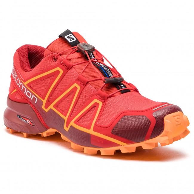 Topánky SALOMON - Speedcross 4 404657 27 V0 High Risk Red Red Dahlia Tangelo e1912ec442c