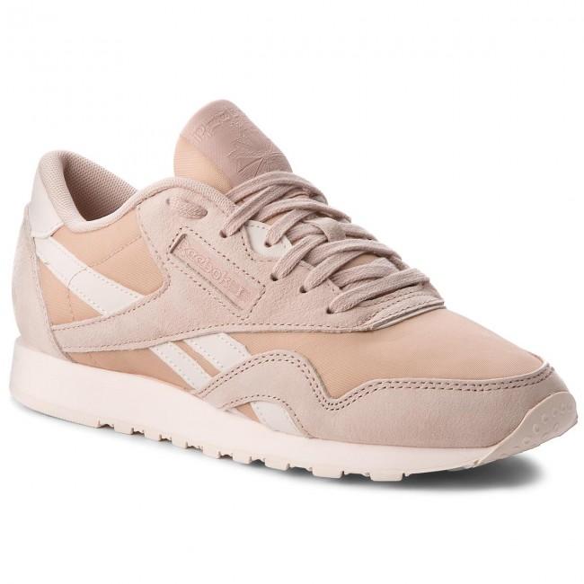 5989afd821 Topánky Reebok - Cl Nylon CN2888 Bare Beige Pale Pink - Sneakersy ...
