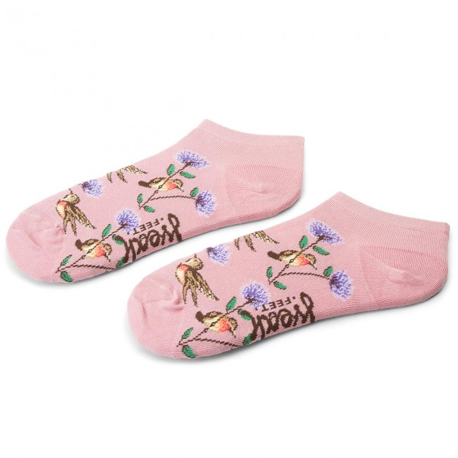 Ponožky Kotníkové Dámske FREAK FEET - SKOL-ROZ Farebná Ružová ... bc721cd4a01